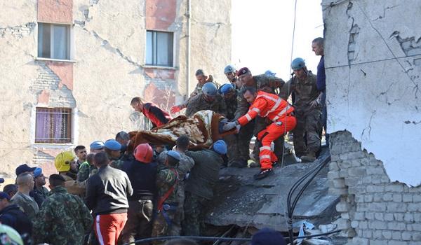 Τα ονόματα των 28 νεκρών του σεισμού στην Αλβανία