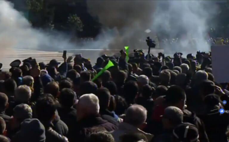 Αλβανία: Επεισόδια στο Πρωθυπουργικό μέγαρο. Την σύλληψη του Ράμα ζητά ο Μπερίσα. Live