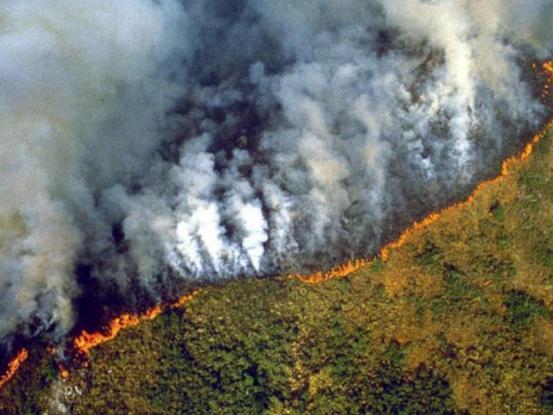 Νεκρό τοπίο ο Αμαζόνιος: Εκατοντάδες φωτιές καίνε το τροπικό δάσος