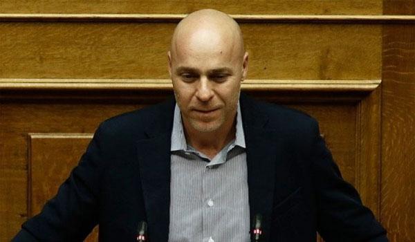 Παραιτήθηκε από βουλευτής ο Γιώργος Αμυράς