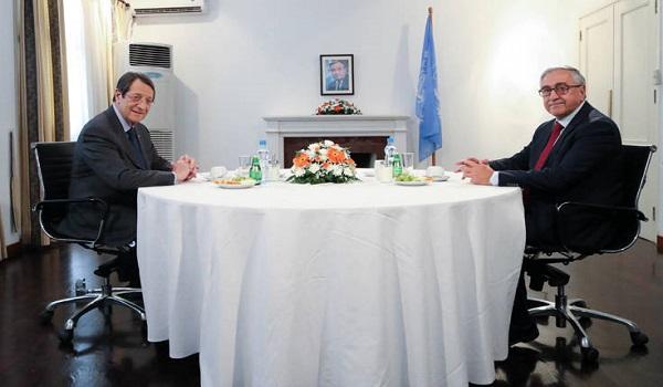 Ολοκληρώθηκε η συνάντηση Αναστασιάδη-Ακιντζι