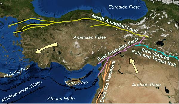 Αυτό είναι το ενεργό ρήγμα που έδωσε το μεγάλο σεισμό στην Τουρκία