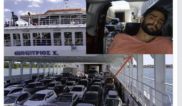 Εξοργιστικό: Παγιδεύτηκε με το αναπηρικό του αμαξίδιο στο πλοίο για Θάσο