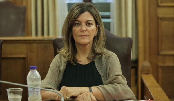 Στον ΟΟΣΑ  η πρώην αναπληρώτρια υπουργός Κοινωνικής Αλληλεγγύης Ράνια Αντωνοπούλου