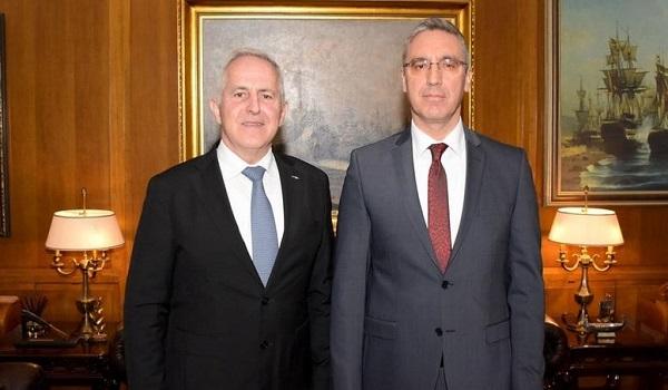 Τι συζήτησαν Αποστολάκης και τούρκος πρέσβης