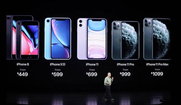 iPhone 11: Αυτά είναι τα νέα κινητά της Apple. Οι τιμές πώλησης