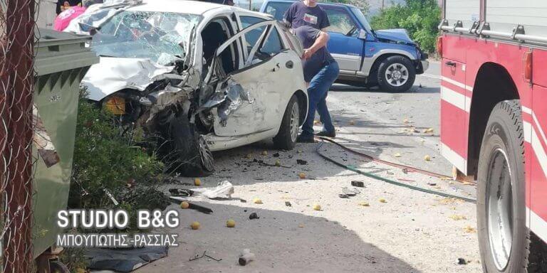Βίντεο: Τροχαίο στο Κεφαλάρι Άργους με έναν σοβαρά τραυματία