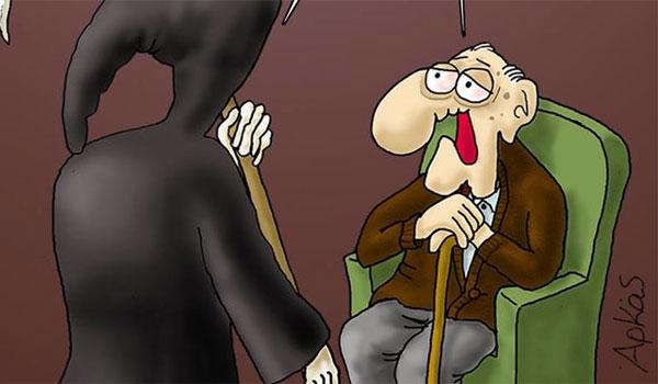 Το σκίτσο του Αρκά για τις συντάξεις και την ατάκα Τσίπρα!
