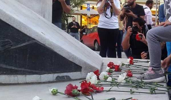 Αρμένιοι τίμησαν τα θύματα της Γενοκτονίας των Ποντίων στη Θεσσαλονίκη. Βίντεο
