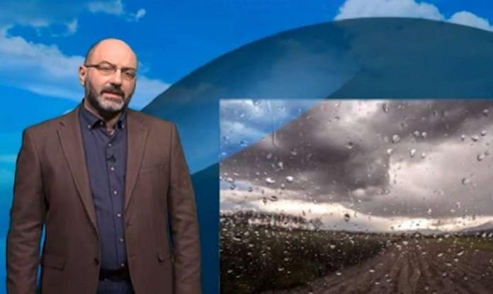 Σάκης Αρναούτογλου: Έκτακτη διπλή προειδοποίηση για την κακοκαιρία