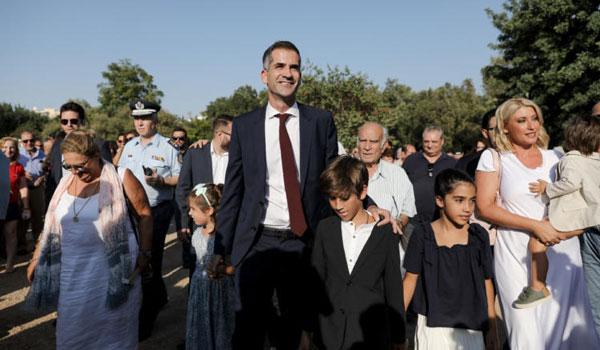 Κώστας Μπακογιάννης: Ορκίστηκε δήμαρχος στην Ακαδημία Πλάτωνος