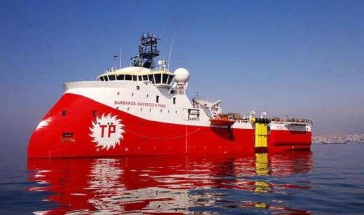 Η Τουρκία αποσύρει το Ορούτς Ρέις - Navtex για το Μπαρμπαρός στην Κυπριακή ΑΟΖ