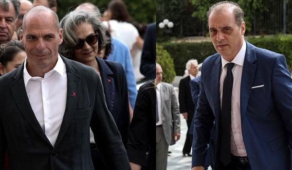 Κατάργηση βουλευτικής ασυλίας προτείνουν Γιάνης Βαρουφάκης και Κυριάκος Βελόπουλος