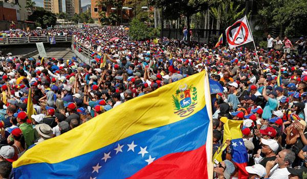 Βενεζουέλα: Η αντιπολίτευση καταγγέλλει πως δυνάμεις ασφαλείας απέκλεισαν την είσοδο του κοινοβουλίου