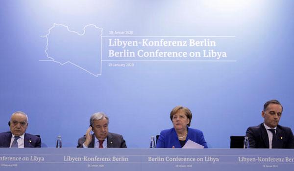Διάσκεψη του Βερολίνου: Συμφωνία για εκεχειρία και τήρηση του εμπάργκο όπλων