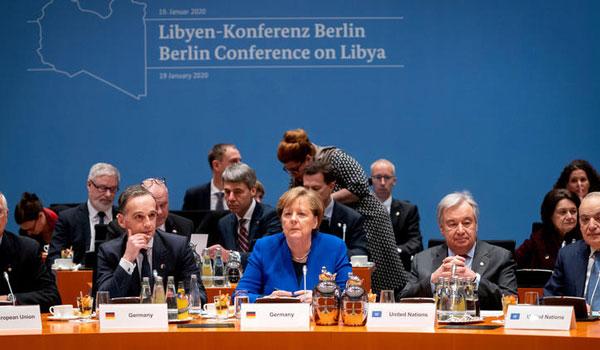 Live: Άρχισε η κρίσιμη Διάσκεψη του Βερολίνου για τη Λιβύη