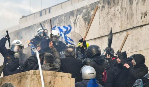 Μήνυση για τα επεισόδια στο συλλαλητήριο κατέθεσε η Παμμακεδονική Ομοσπονδία