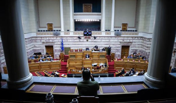 LIVE: Η συζήτηση στη Βουλή για την σύσταση Προανακριτικής για Παπαγγελόπουλο