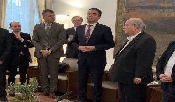 Βούτσης σε Ντιμιτρόφ: Διαμορφώθηκε ευρύτερη πλειοψηφία ανοχής για τη Συμφωνία των Πρεσπών