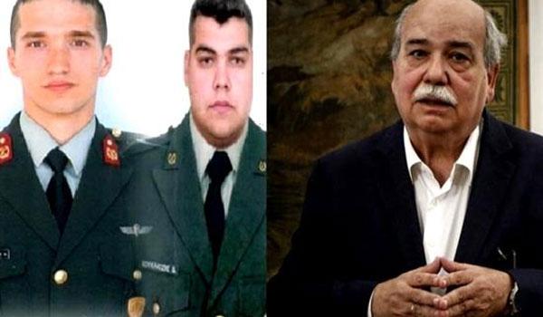 Υπό δρακόντεια μέτρα ασφαλείας η συνάντηση Βούτση με τους Έλληνες αξιωματικούς