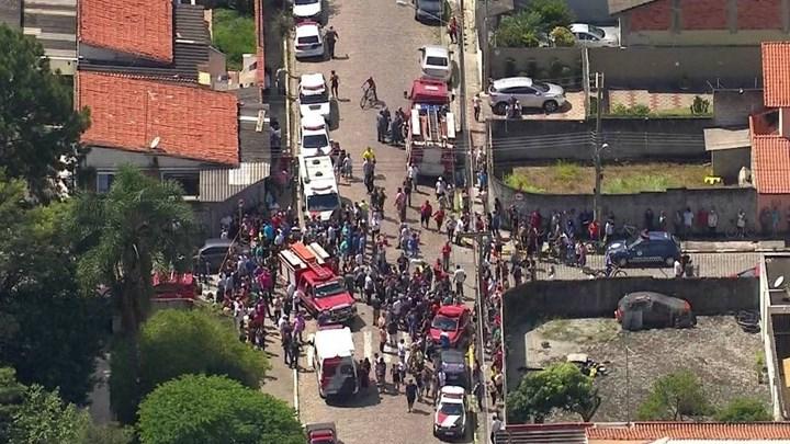 Βίντεο - σοκ από την επίθεση σε σχολείο στη Βραζιλία