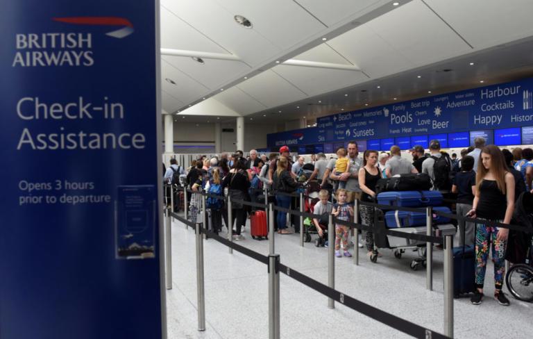 Προβλήματα στο τσεκ ιν της British Airways