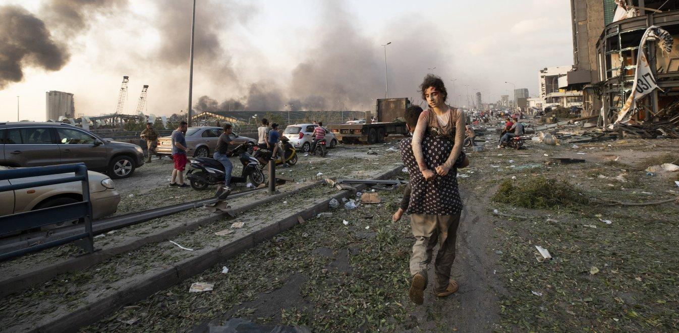 Έκρηξη στη Βηρυτό παρόμοια με τη Χιροσίμα.Δεκάδες οι νεκροί, χιλιάδες οι τραυματίες