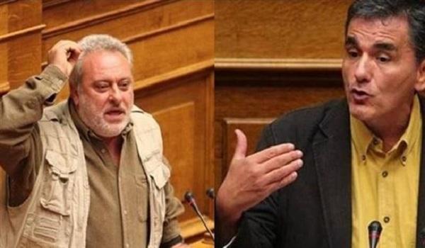 Βουλή: Άγρια κόντρα Ψαριανού -  Τσακαλώτου: Οι γερμανοτσολιάδες, η μαγκιά και το. φινιστρίνι
