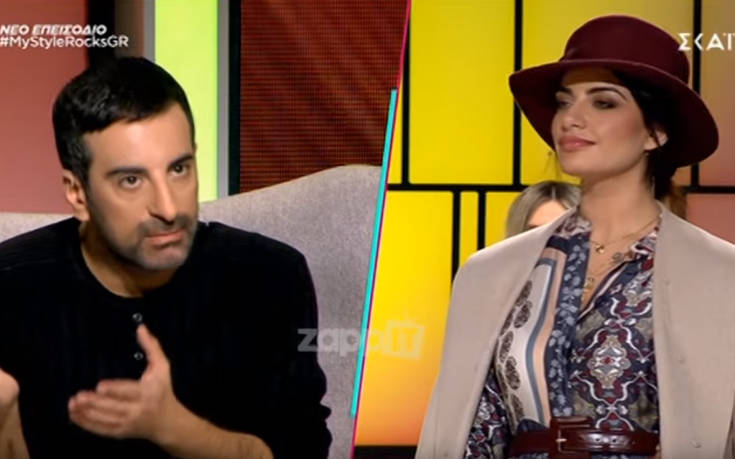 My Style Rocks: Απίστευτη ένταση ανάμεσα στον Στέλιο Κουδουνάρη και την Μαρία Καζαριάν