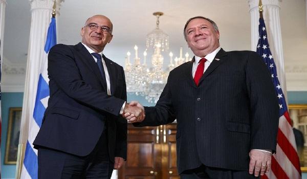 Συνάντηση Πομπέο - Δένδια: Σαφή τοποθέτηση από ΗΠΑ για Τουρκία ζήτησε ο Έλληνας ΥΠΕΞ