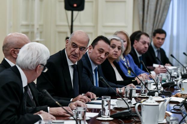 Συμβούλιο Εξωτερικής Πολιτικής: Εθνική σύμπνοια και ομόνοια, διαπιστώνει ο Δένδιας