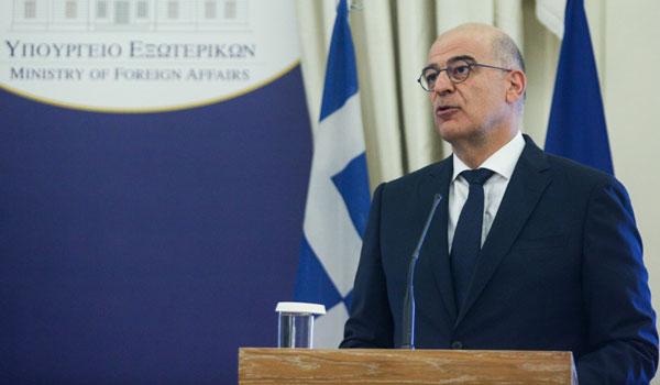 Δένδιας: Προϋπόθεση για τον διάλογο με την Τουρκία ο σεβασμός του διεθνούς δικαίου