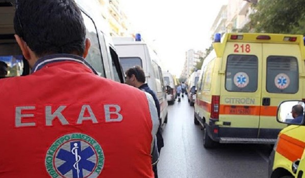 Λαμία: Ηλικιωμένος οδηγός παρέσυρε πεζή σε διάβαση