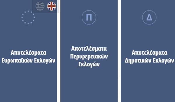 Live Αποτελέσματα εκλογών 2019: Δείτε εδώ Ευρωεκλογές, Δήμους και Περιφέρειες