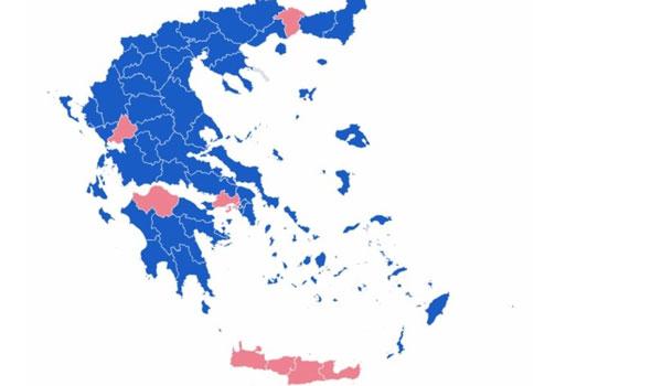 Εκλογές 2019: Τα τελικά αποτελέσματα, οι έδρες και οι βουλευτές που εκλέγονται