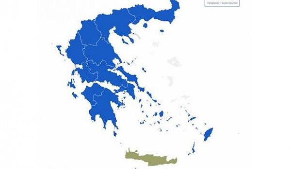 Εκλογές 2019: Μεγάλη επικράτηση της Νέας Δημοκρατίας σε Περιφέρειες και Δήμους