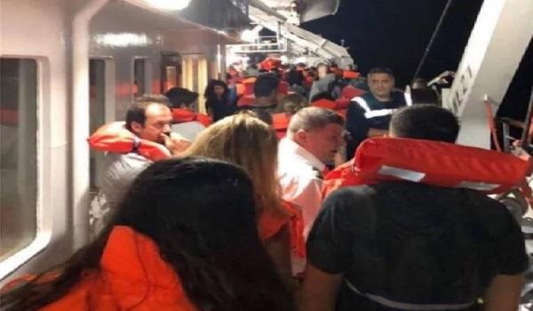 Φωτιά στο πλοίο Ελευθέριος Βενιζέλος. Περιπέτεια εν πλω για 875 επιβάτες