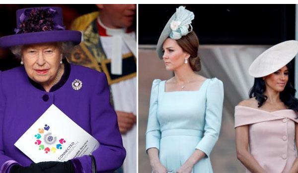 Ποια η σχέση της βασίλισσας Ελισάβετ με την Κέιτ και τη Μέγκαν;