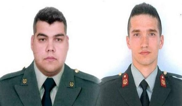 Σε υπηρεσία εξωτερικού οι δυο Έλληνες στρατιωτικοί που κρατούνται στην Τουρκία