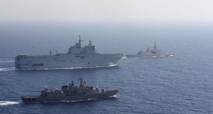 Κοινή άσκηση Ελλάδας-Γαλλίας στην περιοχή της παράνομης τουρκικής NAVTEX. Βίντεο