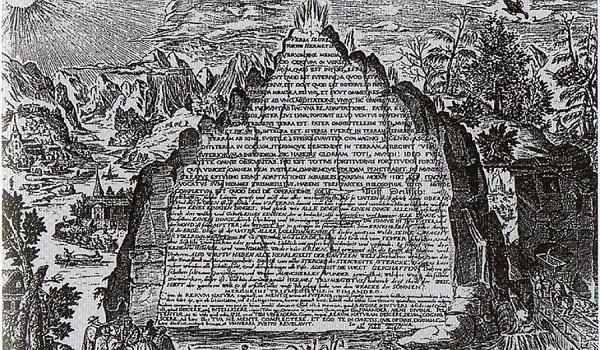 H επιγραφή του Ερμή που περιέχει τα μυστικά του κόσμου