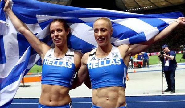 Στεφανίδη - Κυριακοπούλου: Τα χρυσά κορίτσια του επί κοντώ μας έκαναν περήφανους