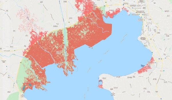 Έρευνα δείχνει ότι μεγάλο μέρος της Θεσσαλονίκης θα βουλιάξει