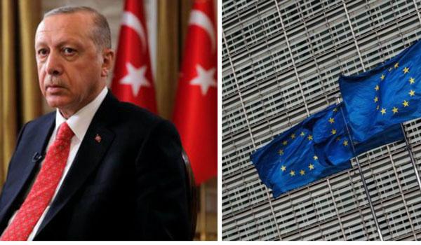 Ο Ερντογάν απαντά στα μέτρα σε βάρος της Τουρκίας από την ΕΕ