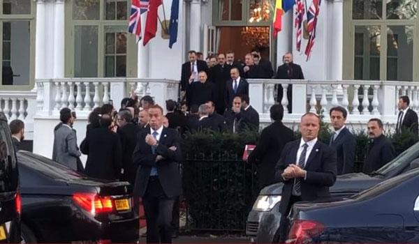 Λονδίνο: Αποδοκίμασαν τον Ερντογάν έξω απο το ξενοδοχείο του