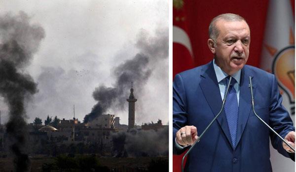 Πυρά Ερντογάν κατά ΝΑΤΟ για την Συρία: Είστε μαζί μας ή με τους τρομοκράτες;