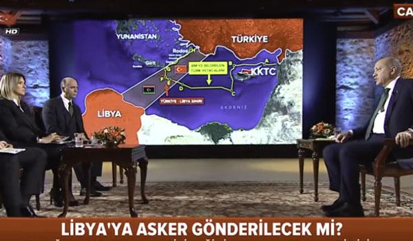 Νέο τηλεοπτικό σόου Ερντογάν: Γεωτρήσεις κοντά σε Καστελόριζο και Κρήτη