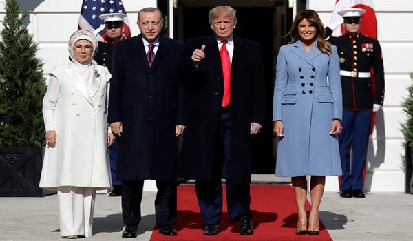 Υποδοχή Τραμπ σε Ερντογάν: Είμαστε φίλοι από παλιά