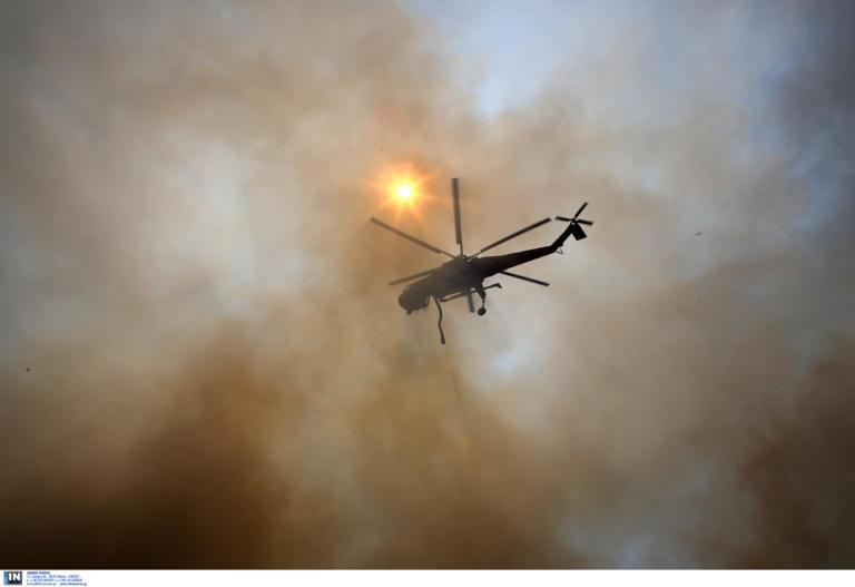 Φωτιά στην Εύβοια: Σε χειρουργική επέμβαση υποβλήθηκε ο εθελοντής πυροσβέστης
