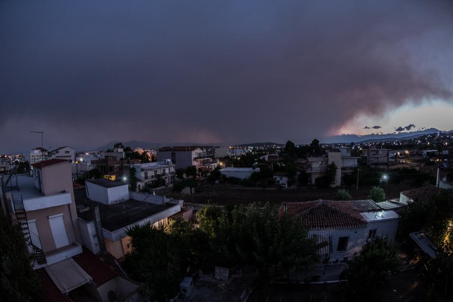 Πώς σχολιάζουν τα διεθνή ΜΜΕ για την πύρινη κόλαση στην Εύβοια